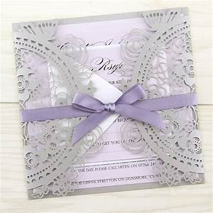 poppy laser cut pure invitation wedding invites With laser cut wedding invitations uk samples