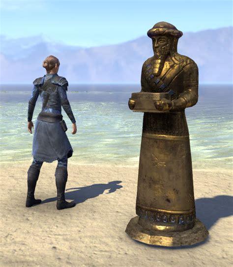 ESO Fashion | Ra Gada Funerary Statue, Gilded Servant ...
