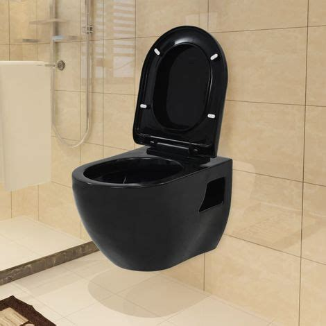 wand wc schwarz wand wc keramik schwarz