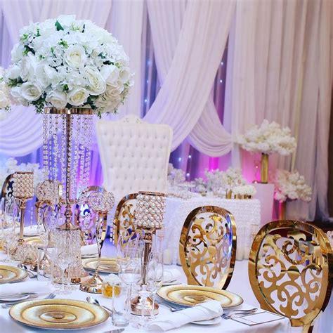 decoration de salle de mariage blanc