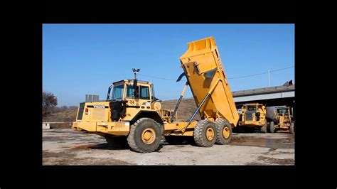 volvo ac articulated dump truck  sale sold