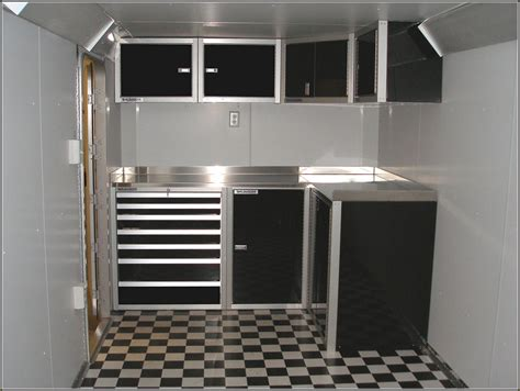 aluminum race trailer cabinets cabinet  home