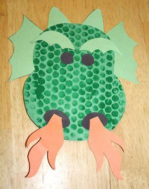 wrap print craft all network 480 | bubble wrap print dragon craft