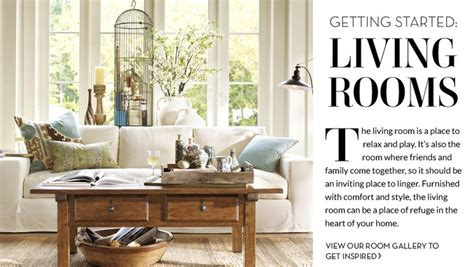 love this pottery barn living room home decor ideas