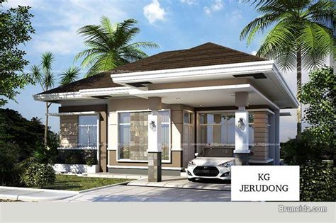 Modern Design Bungalow House  Houses For Sale In Brunei