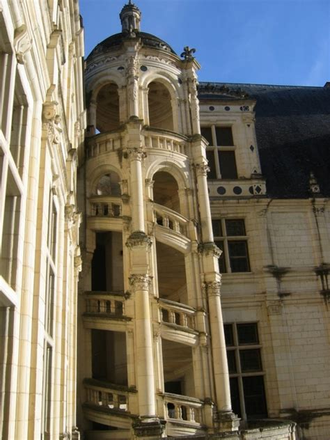 escalier ext 233 rieur de chambord clio photo