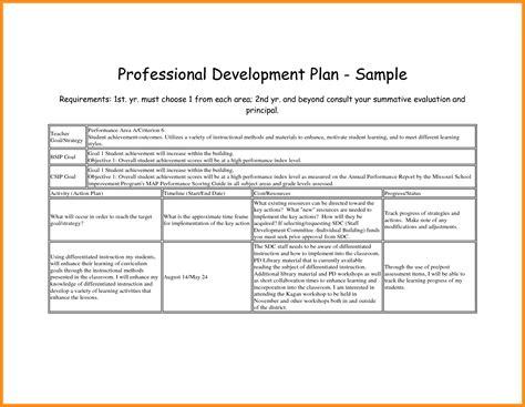 employee professional development plan template pacq co