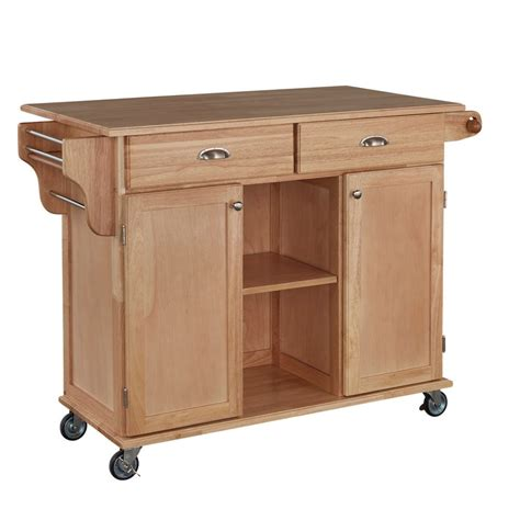 kitchen carts with storage kitchen island carts the home depot canada 6506