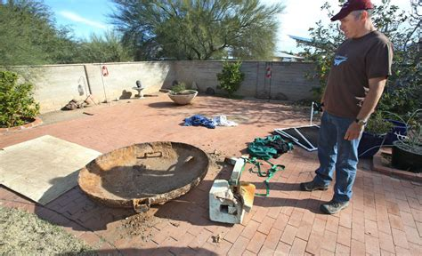 Backyard Bomb Shelters by A Real Digger Tucson Finds Bomb Shelter In