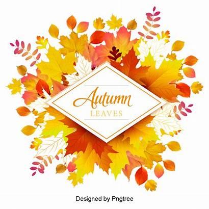 Autumn Cartoon Simple Backgrounds Element Painted Transparent