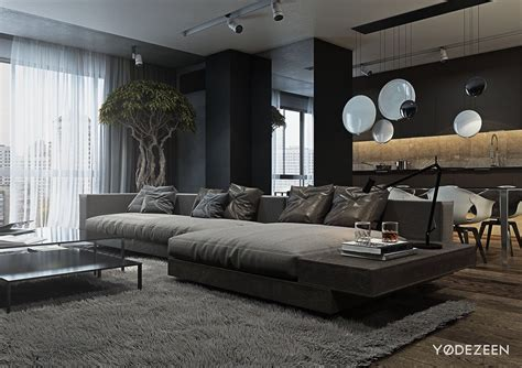 A And Calming Bachelor Pad With Wood And Concrete a and calming bachelor pad with wood and
