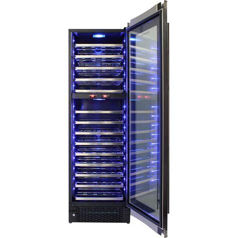 dual zone schmick upright wine refrigerator