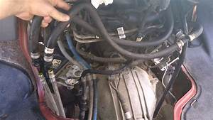Heater Hose Orientation Under Doghouse On 2000 E