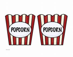 the speech ladies tangled tuseday With popcorn container template