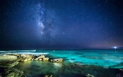 Sky Night Stars Desktop Backgrounds Wallpapers