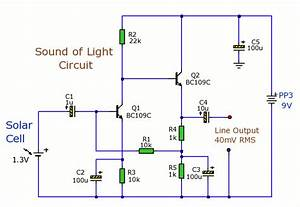 Sound Of Light Circuit Circuit Diagram World