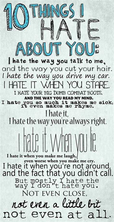10 Things I Hate About You Classic Movie, 10 Things, Movie Quotes, Favorite Movie, Movie Line