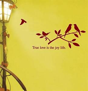 True Love is the Joy Life Wall Sticker - Home Decorating