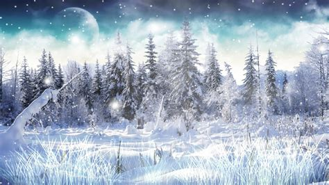 Animated Snow Desktop Wallpaper - winter snow animated wallpaper