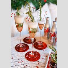 Christmas Party Drink Station  The Southern Style Guide