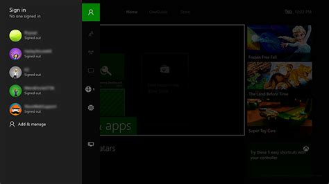 switch profiles  xbox   xbox  console xbox