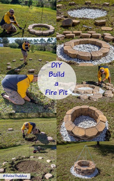 building a pit diy build a backyard pit