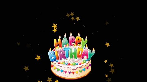 happy birthday background video  effects   youtube