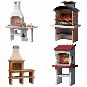 Barbecue En Pierre Mr Bricolage : barbecue fixe cuisson bois ~ Dallasstarsshop.com Idées de Décoration