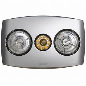 Contour 2 3 In 1 Bathroom Heater With Exhaust Fan And