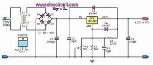 Power Supply - Lm317 Psu - Huge Voltage Drop