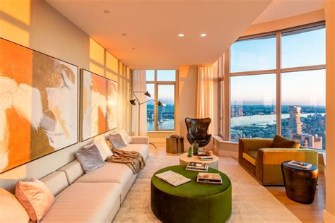 Rental Nyc by New York By Gehry Penthouse Up For Grabs As 45k Month