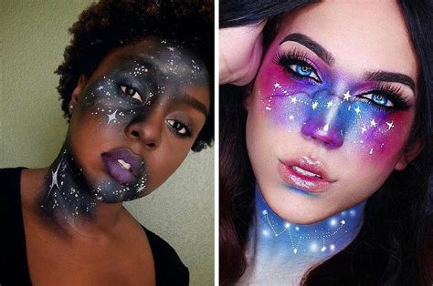 black opal neon 13 out of this world galaxy makeup ideas