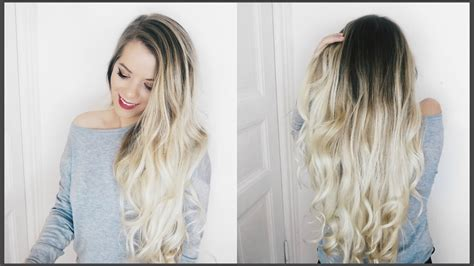 How To Do Ombre Hair by Balayage Ombr 233 Hair At Home Diy
