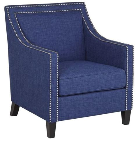 elsinore accent chair royal blue apt2b