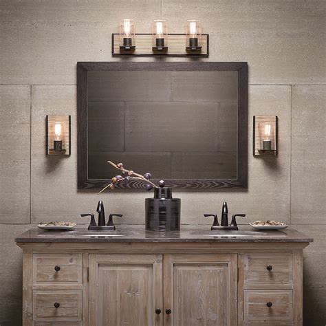 Bathroom Light Fixtures Single