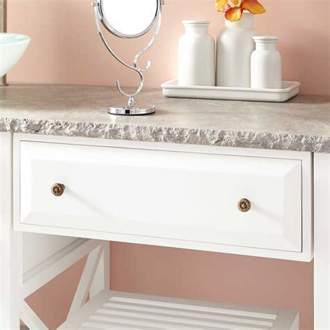 72 quot glympton vessel sink vanity with makeup area white bathroom