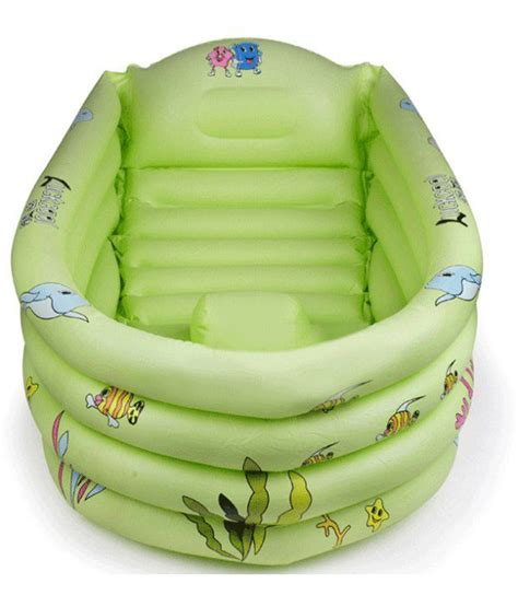 big thick green inflatable baby bath tub buy big thick