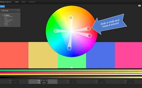 color wheel adobe the adobe color wheel easy color palettes woodland paper