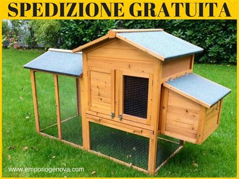 Gabbie X Galline by Pollaio In Legno E Recinto Per Galline A Genova