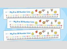 number line 0 to 30 clipart Clipground