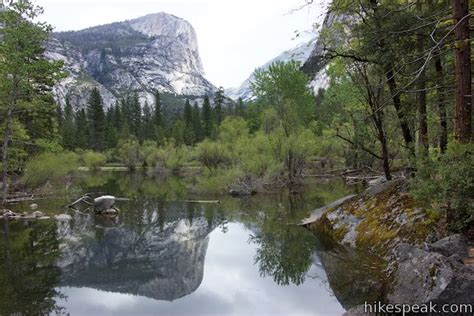 Mirror Lake Trail Yosemite