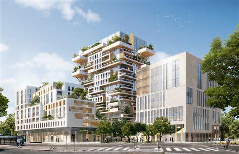 bureau logement tours jean paul viguier architecture projet hypérion tour