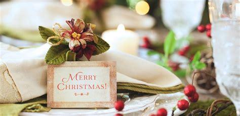tavola imbandita per natale segnaposto natalizi fai da te per una tavola imbandita con