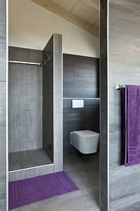 Douche Salle De Bain : salle de bains design avec douche italienne photos conseils ~ Melissatoandfro.com Idées de Décoration