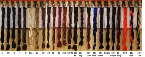 xpression hair colors xpression colour chart hair styzzles in 2019