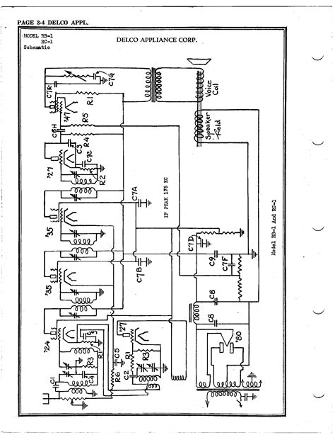 Delphi Delco Electronic Radio Wiring Diagram by Delco Radio Corp Rc 1 Antique Electronic Supply