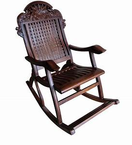 Carved Angoori Design Rocking Chair By Saaga Best Deals