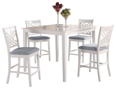 bistro table and 4 chairs standard furniture brooklyn square counter height table