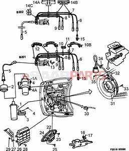 7484546 saab cps crank position sensor genuine saab With saab key diagram