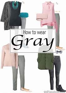 How to wear gray u2013 choose color combinations and ensembles